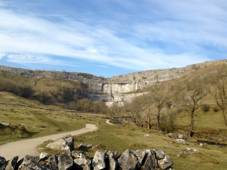 Path leading to Malham Cove
