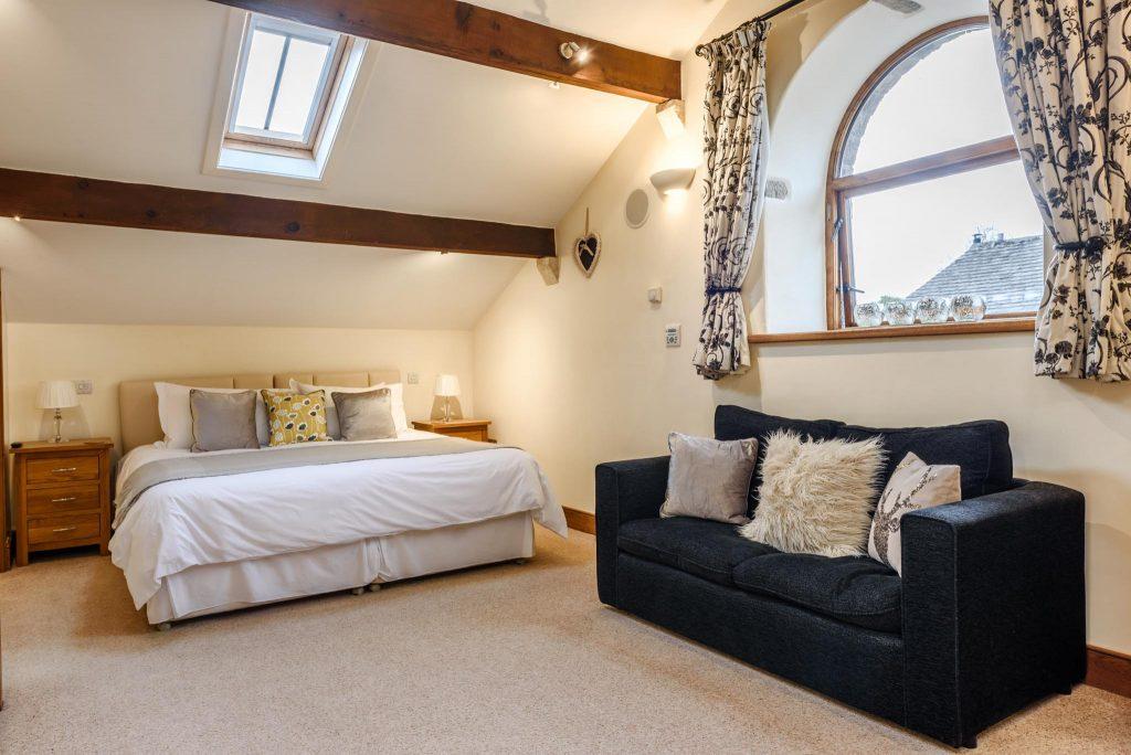 Large first floor master bedroom