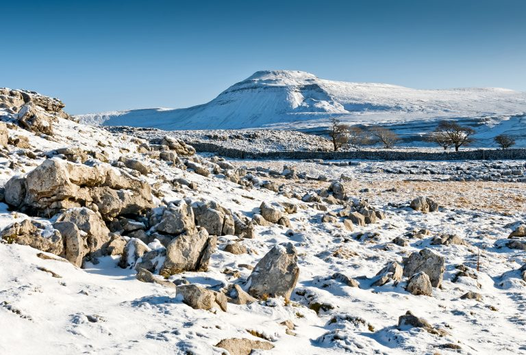 Snowy Ingleborough
