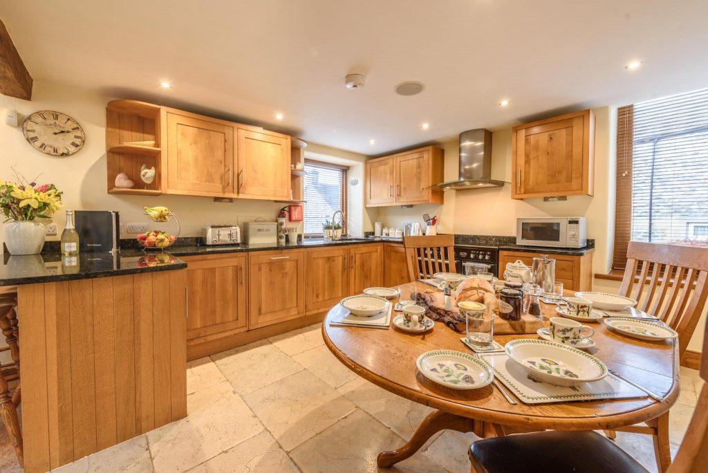 Oak and granite Kitchen Diner