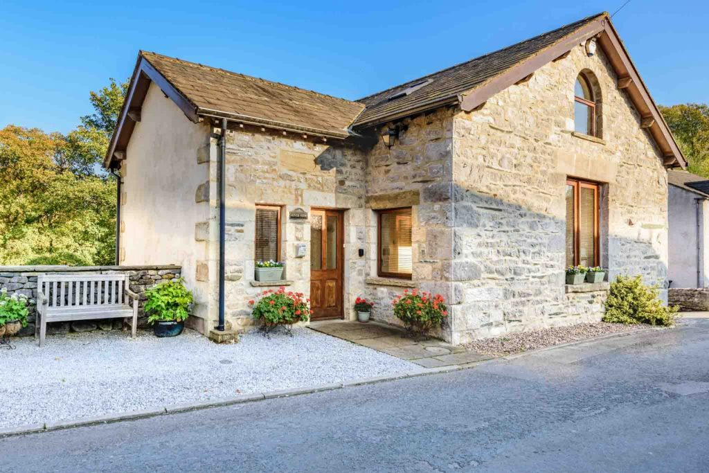Large detached property, situated on a quiet lane
